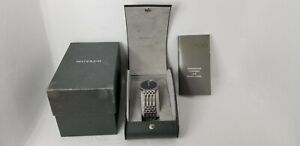 Movado Esperanza 84.19.861 1/1.4 Blue Face Stainless Case and Bracelet Watch