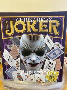 DC Comics The Joker Face of Insanity 1:1 Bust Figure Statue Batman Sideshow
