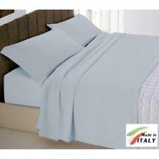 Parure Copripiumino Tinta Unita Cotone Made in Italy