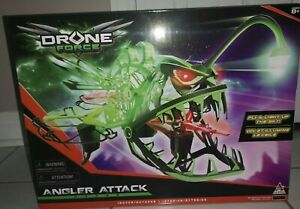 Drone Force Angler Attack 2.4Ghz Illuminated Indoor/Outdoor Drone Helicopter