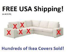 IKEA KIVIK Corner Section (Sectional) Sofa Cover Slipcover DANSBO WHITE Sealed!