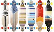 "Two Bare Feet 821 Complete Longboard Skateboard 42"" x 9.5"" Board Skate Cruiser"