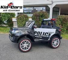 Kinderauto elektrisch Polizeiauto 45W Elektrofahrzeug 2 Sitzer Polizei SUV jeep