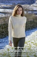 Beautiful Beautham sweater jumper knitting pattern pullout - Lisa Richardson