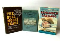 Theodore Roosevelt Book Lot The Bull Moose Years - The Political Battle Of 1912