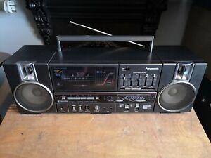 Panasonic RX-C45L Portable Component System Radio Cassette Recorder Vintage...