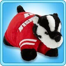 "Wisconsin Badgers Large 18"" Mascot Pillow Pet"