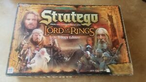 Stratego The Lord Of The Rings Trilogy Edition 2004 Board Game