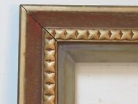 AMERICAN ART & CRAFTS GILDED WOOD FRAME FOR PAINTING  24 X  20 INCH
