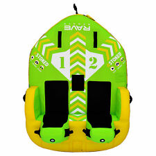 Rave Sports Stoked 75 Inch 2 Rider Seated Inflatable Towable Double Water Tube
