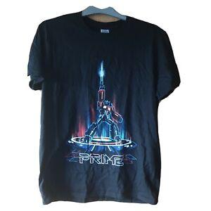 Transformers Optimus Prime Tron Style T-Shirt Size M, Black, NEW