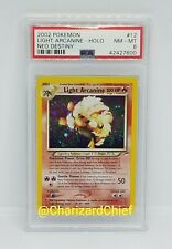 MINT LIGHT ARCANINE HOLO RARE NEO DESTINY SET COLLECTION 12/105 ORIGINAL FOIL