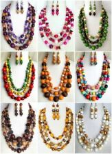 Wood African Jewellery Sets