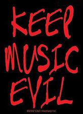 Keep Music Evil - Sticker