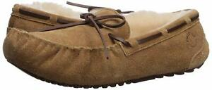 Dearfoams Women's Fireside Victoria Shearling Moccasin Slippers