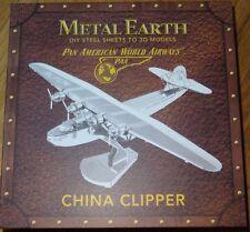 Pan American China Clipper Airplane Metal Earth 3D Laser Cut Model Kit MMS103B