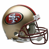 SAN FRANCISCO 49ERS 96-08 THROWBACK NFL AUTHENTIC FOOTBALL HELMET