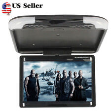 Multi-angle13'' Wide LCD TFT Car Ceiling Flip Down Monitor Auto Roof Mount TV US