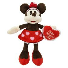 Disney Parks Minnie Mouse Be My Valentine Valentine's Day Plush New With Tags