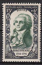 FRANCE  TIMBRE NEUF N° 871 **  MAXIMILIEN DE ROBESPIERRE
