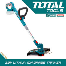 Total Tools 20v Li-ion Grass Strimmer / Cutter Cordless Lightweight Body Only