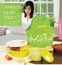 Tupperware CrystalWave Lunch Set c/w Insulated Tote Bag