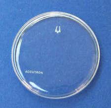 NOS Bulova Accutron Spaceview Crystal 1271AWS 31.1mm