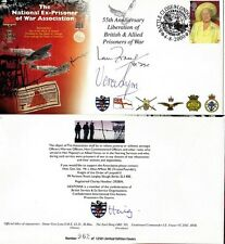 2000 POW ASSOCIATION MULTI SIGNED COVER VERA LYNN EARL HAIG IAN FRASER VC SHS