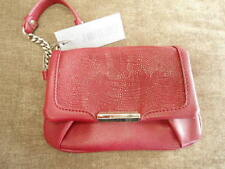 Crimson Red Jennifer Lopez Wristlet NEW MSRP $49 ~ small handbag purse