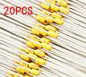 20Pcs NEW 0.1uF 50V Monolithic Ceramic Chip Capacitor 104 Yellow