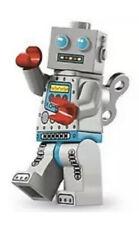 "LEGO MINIFIGURES SERIES 6 (8827) The ""CLOCKWORK ROBOT"" Collectible"