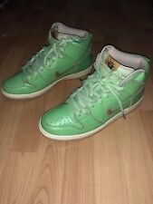 Nike SB Dunk High Statue of Liberty mens size 10 shoes sneakers 313171-302