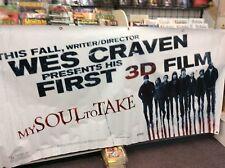 Wes Craven My Soul To Take Vinyl Gigantic Promo Banner 8' x 4' Feet Horror