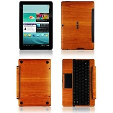 Skinomi Light Wood Skin+Screen Protector for Asus Transformer Pad TF300+Keyboard
