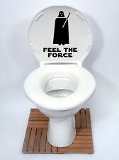 star wars style4 feel the force Toilet Seat Sticker Fun Decal Vinyl Sticker