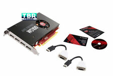 AMD FirePro W5100 4GB Quad Dp Port Video Graphics Video Card DisplayPort