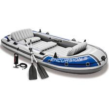 INTEX Schlauchboot Set Excursion 5 + Paddel + Pumpe Angelboot 5 Personen B-Ware