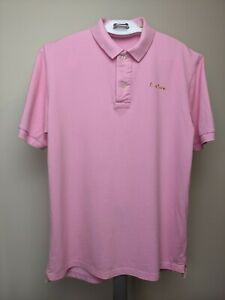 Paul Smith Mini London Authentic  Men's Polo Shirt Size 2XL Pink EUC!