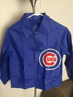 NWOT CHICAGO CUBS KIDS PONCHO JACKET RAINCOAT SMALL