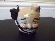 Vintage Bastogne Souvenir Ceramic Clown Head
