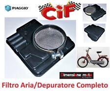 """7500 - Filtro Aria/Depuratore Completo """"CiF"""" tipo Originale per PIAGGIO Ciao 50"""