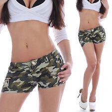 Kurze Damen-Cargo-Shorts