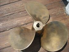 propeller bronze 18 inch right hand marine boat vintage nautical decor