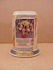 Budweiser Collectible Beer Stein = Historic Advertsing 1999