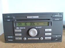 FORD 6000 CD CAR RADIO CD PLAYER TRANSIT CONNECT FOCUS FIESTA C-MAX FUSION KUGA