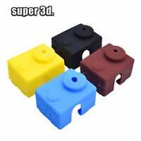 10PCS V6 Silicone Sock sleeve Heater Block Cover Hotend Heater Protect
