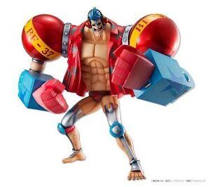 MegaHouse POP Portrait Of Pirates One Piece SA-MAXIMUM Armored Franky Figure