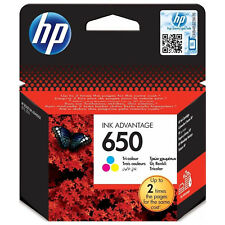 Genuine New HP 650 Tri-colour Original Ink Cartridge (CZ102AE)
