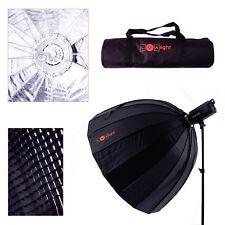 120cm Easy Deep Para Umbrella Softbox, Honeycomb Grid & Bag   LuxLight   Bowens