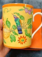 HERMES Siesta Island Mug cup D7.8*H9.4cm IN BOX Tableware rare